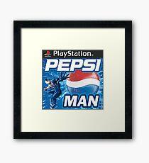 Pepsi Man Video Game Framed Print