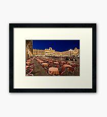 Mayor square, Salamanca Framed Print