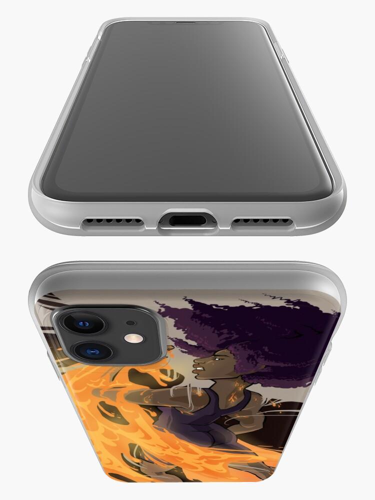 Alternate view of Cora's Lava iPhone Case & Cover