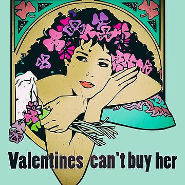 Bob Dylan Lyrics Music Inspired Vintage Girl Art by Sago-Design