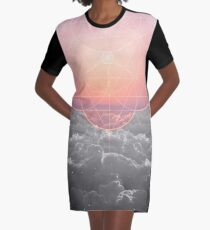 The Sun Is But A Morning Star Graphic T-Shirt Dress