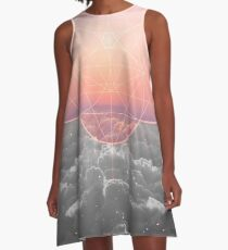 The Sun Is But A Morning Star A-Line Dress