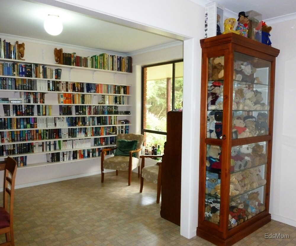 A Reading room and Office on farm - Koroit,Vic, by EdsMum
