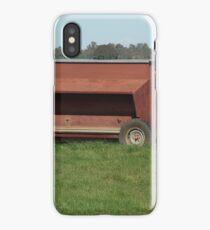 Sheep pellet feeder iPhone Case/Skin