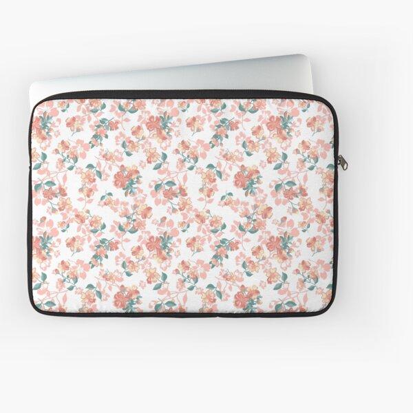 Pretty Floral pattern, spring vibe, vintage  Laptop Sleeve
