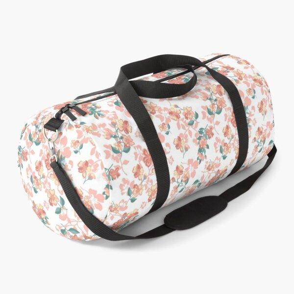 Pretty Floral pattern, spring vibe, vintage  Duffle Bag