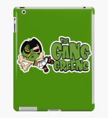 """BRDL """"The Gang Greens"""" Logo - Clothing, Stationery, Phone Cases & MORE! iPad Case/Skin"""