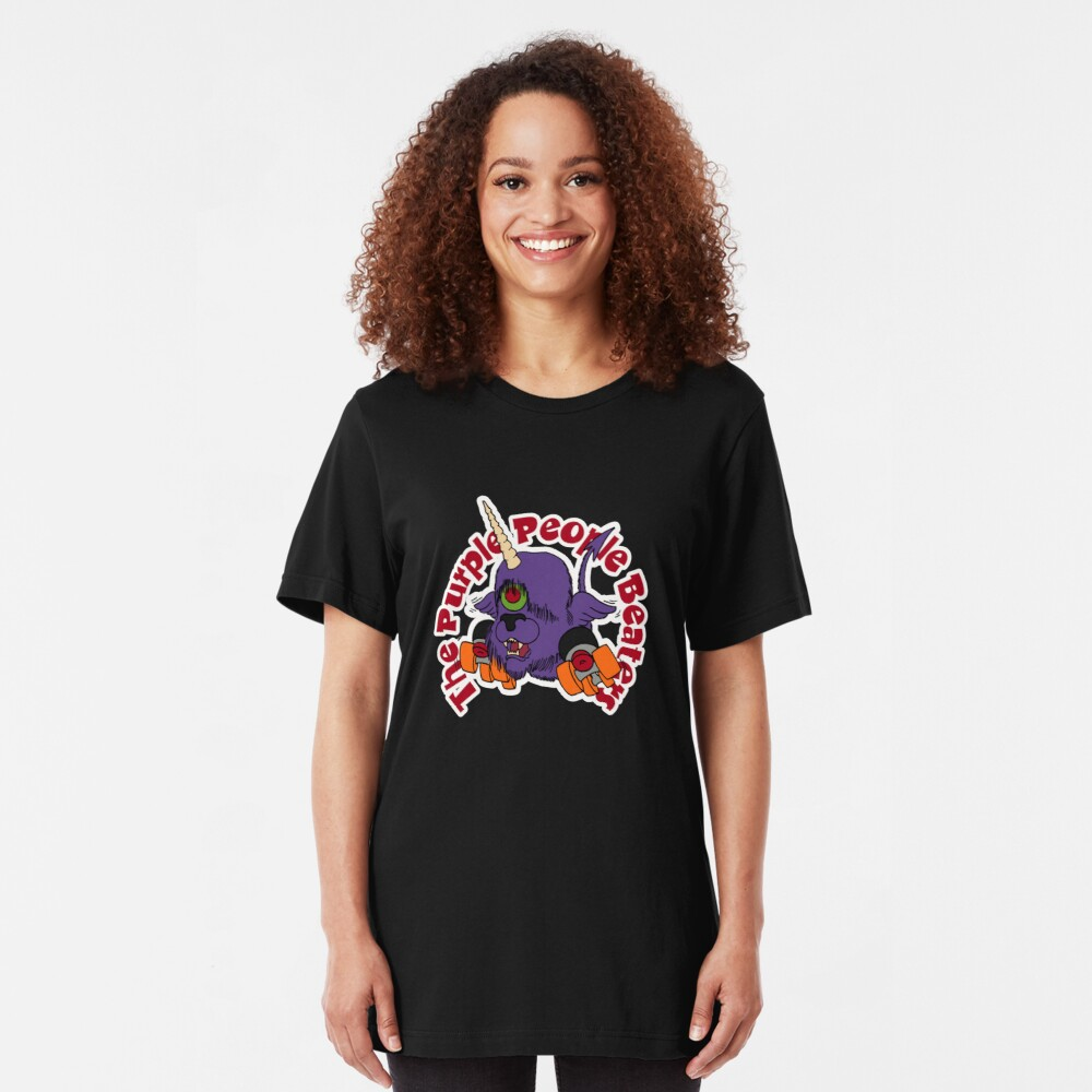 "BRDL ""The Purple People Beaters"" - Clothing, Tablet/Phone Cases, Pillows & MORE Slim Fit T-Shirt"