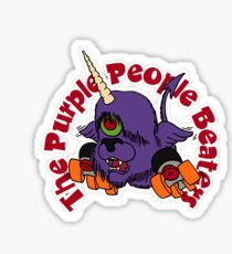 """BRDL """"The Purple People Beaters"""" - Clothing, Tablet/Phone Cases, Pillows & MORE Sticker"""
