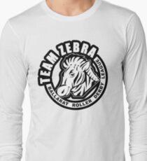 """BRDL """"Team Zebra"""" Logo - Clothing, Phone Cases, Notebooks & MORE Long Sleeve T-Shirt"""
