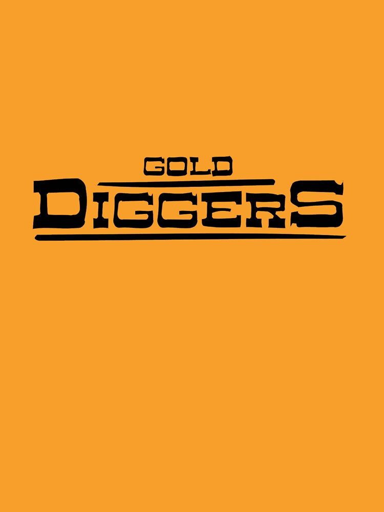 """BRDL """"Gold Diggers"""" Logo - Clothing, Pillows, Posters and MORE by BRDL"""