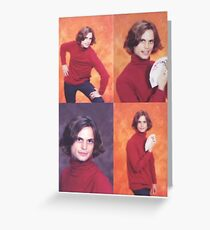 The Iconic Photo Shoot Greeting Card
