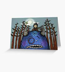 Drive Me Wild Greeting Card