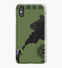 Lost Poster iPhone Case