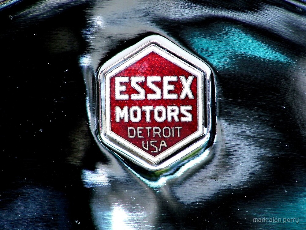 Essex Motors Detroit USA by mark alan perry