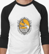 Ballarat Roller Derby League - Clothing, Pillows & Tote Bags Baseball ¾ Sleeve T-Shirt