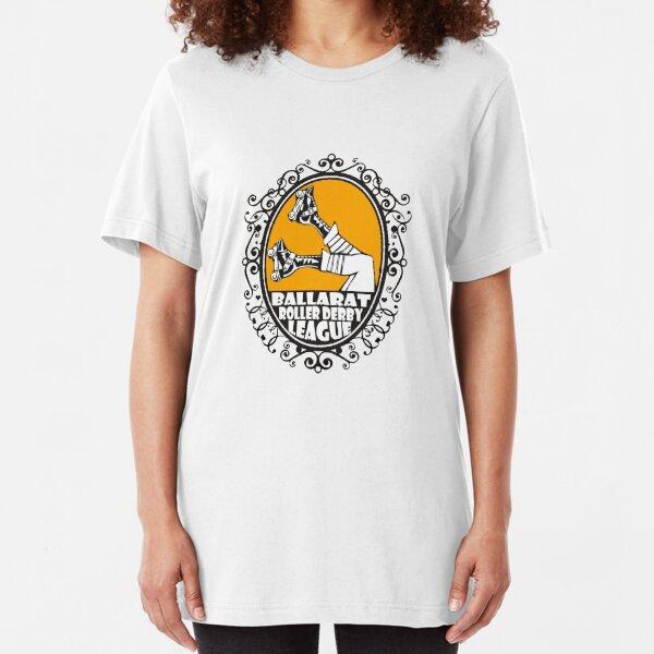 Ballarat Roller Derby League - Clothing, Pillows & Tote Bags Slim Fit T-Shirt