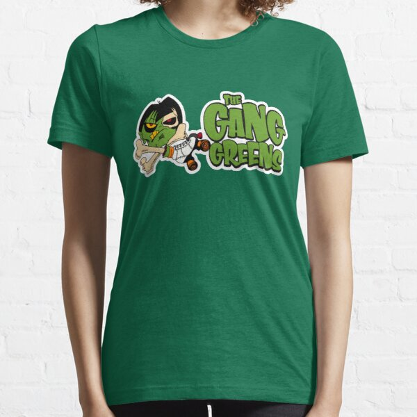 """BRDL """"The Gang Greens"""" Logo - Clothing, Stationery, Phone Cases & MORE! Essential T-Shirt"""