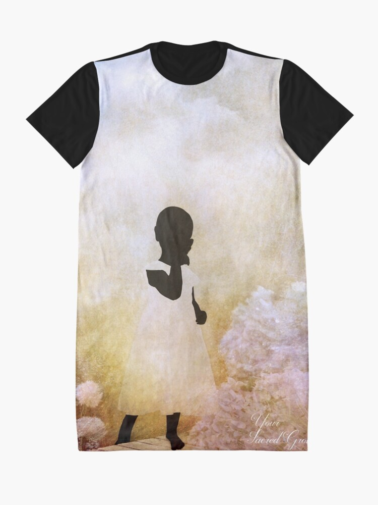 Alternate view of Your Sacred Ground Graphic T-Shirt Dress
