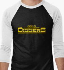"BRDL ""Gold Diggers"" Logo - T-shirts, Hoodies Leggings & Pillows Baseball ¾ Sleeve T-Shirt"
