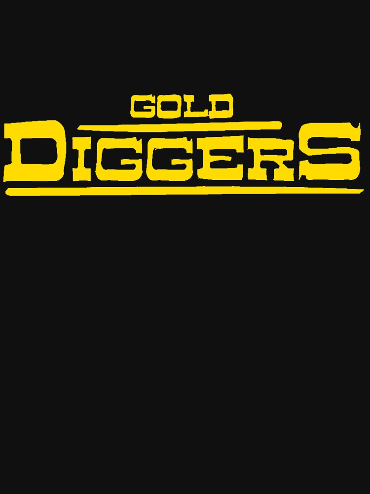 "BRDL ""Gold Diggers"" Logo - T-shirts, Hoodies Leggings & Pillows by BRDL"