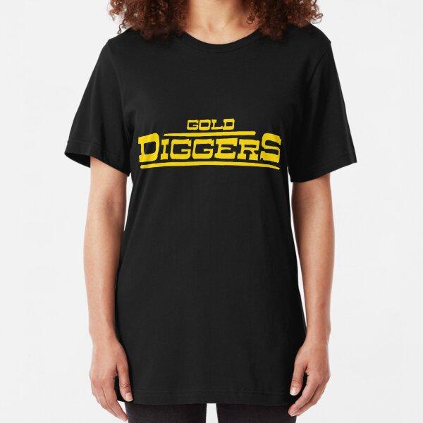 "BRDL ""Gold Diggers"" Logo - T-shirts, Hoodies Leggings & Pillows Slim Fit T-Shirt"