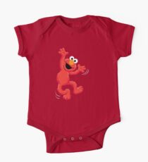 Elmo Happy One Piece - Short Sleeve