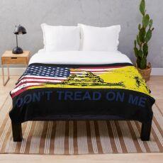 Manta Bandera estadounidense de Gadsden usada