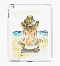 Beach Yoga iPad Case/Skin