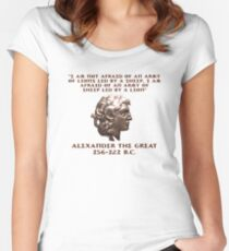 Alexander the Great Women's Fitted Scoop T-Shirt