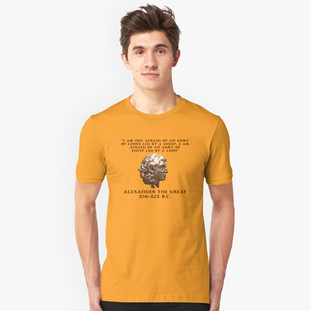 Alexander the Great Unisex T-Shirt Front