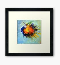Smally Framed Print