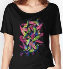 Hummingbird Dance in Sharpie Women's Relaxed Fit T-Shirt