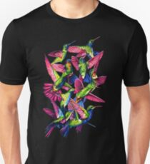 Hummingbird Dance in Sharpie Unisex T-Shirt