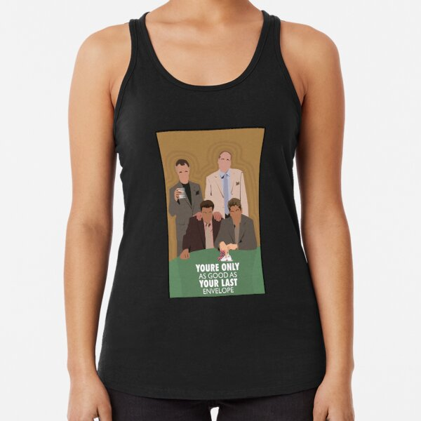 The Sopranos movie film funny Halloween Christmas - Only Good  Your Last Envelope Racerback Tank Top