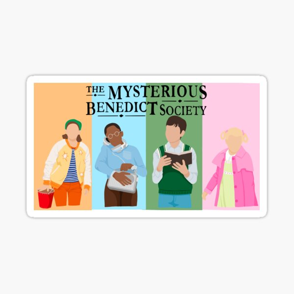 The Mysterious Benedict Society  Sticker