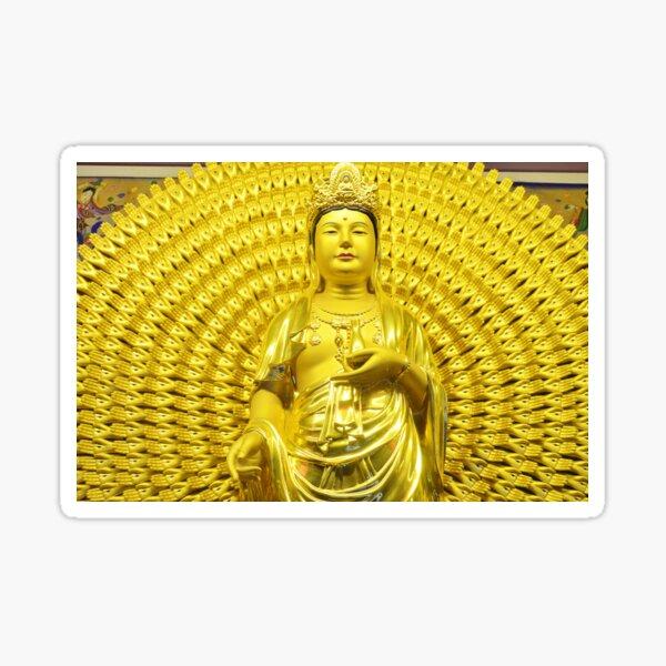 Compassion and Love, Bodhisattva of Compassion, Kindness, Mercy Sticker