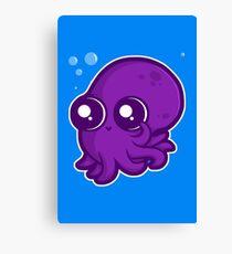 Super Cute Squid Canvas Print