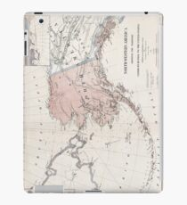 Northwestern America - Alaska - 1867 iPad Case/Skin
