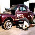 Jr. Thompson's 41 Willys Gasser (Over 4000 Views) by Rhonda Strickland