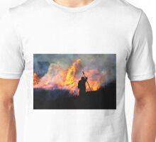 Heather Burning - Yorkshire Dales Unisex T-Shirt