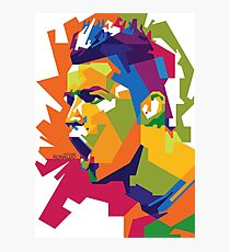 World Cup Edition - Cristiano Ronaldo in WPAP Photographic Print