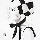 Twiggy by Sonia de Macedo-Stewart