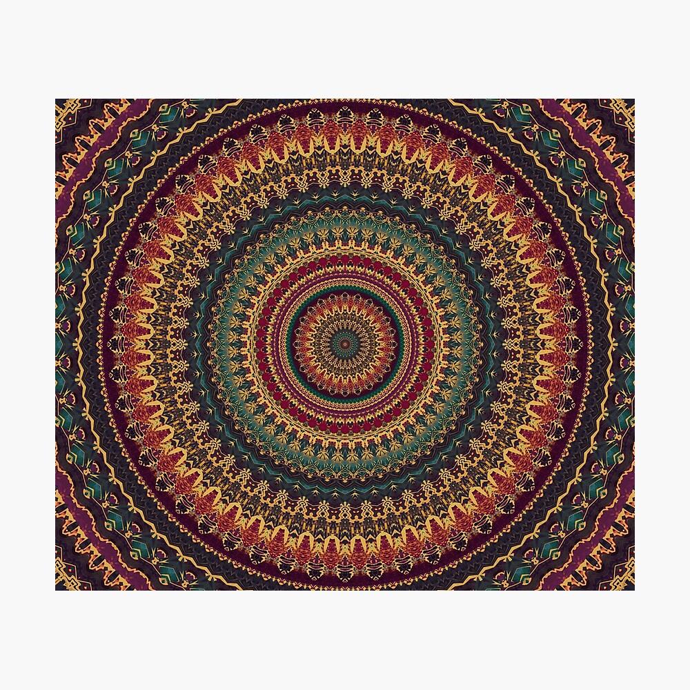 Mandala 11 Lámina fotográfica