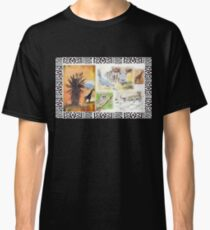 Lodge décor - An African wildlife collage Classic T-Shirt