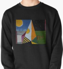 Portrait of Phil and his dog Cherry Pullover Sweatshirt