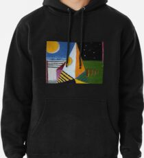 Portrait of Phil and his dog Cherry Pullover Hoodie