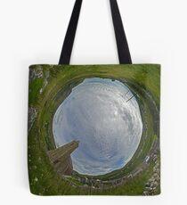 Glencolmcille Church - Sky In Tote Bag