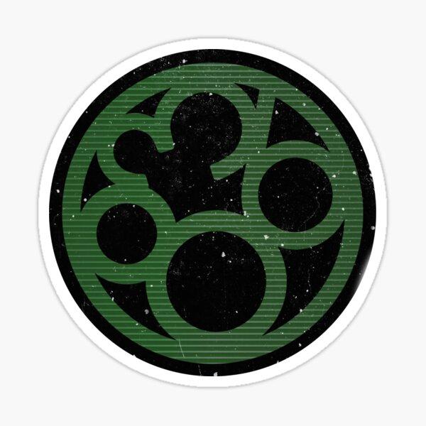 Project 863 Green Logo Glossy Sticker