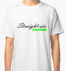 Straight 6 green Classic T-Shirt